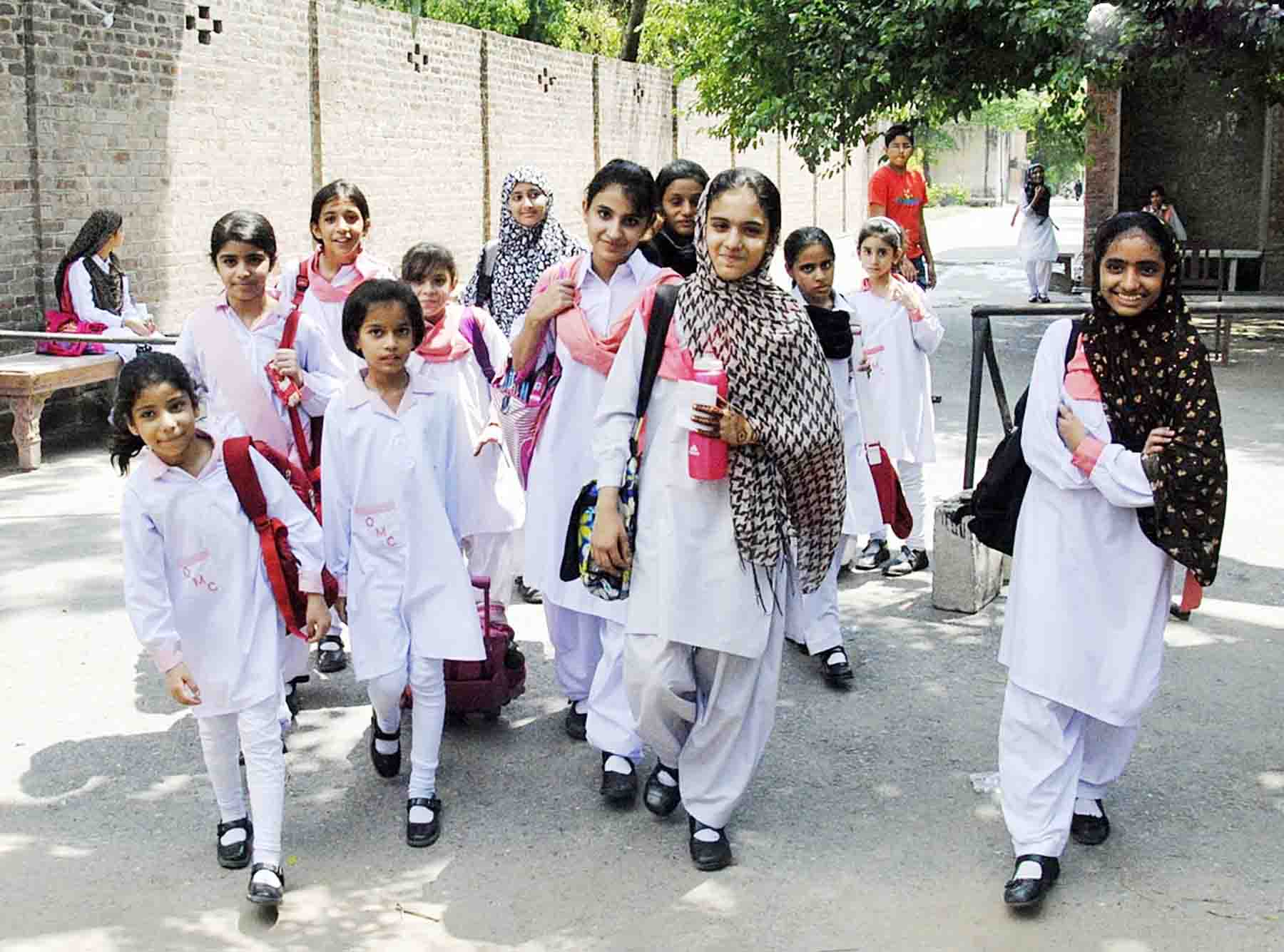 List of schools in Lahore, LAHORE SCHOOLS LIST , IN CITY DISTRICT GOVT. LAHORE