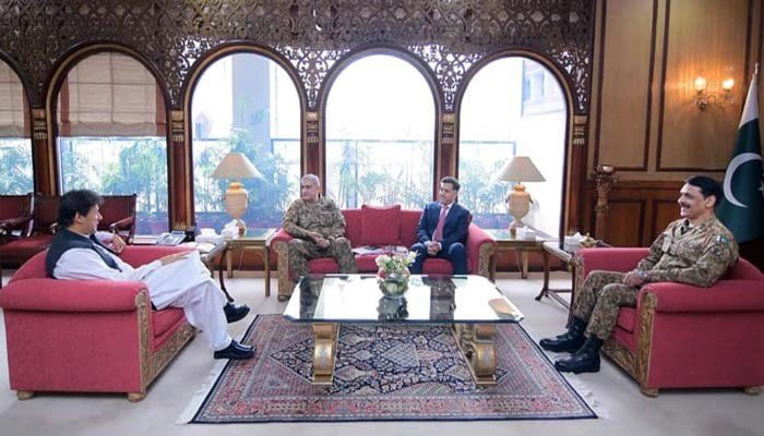 Photo of وزیراعظم سے آرمی چیف کی ملاقات