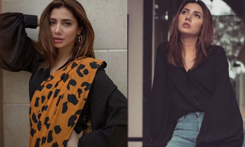 Photo of Mahira Khan shows how to style one top two ways.
