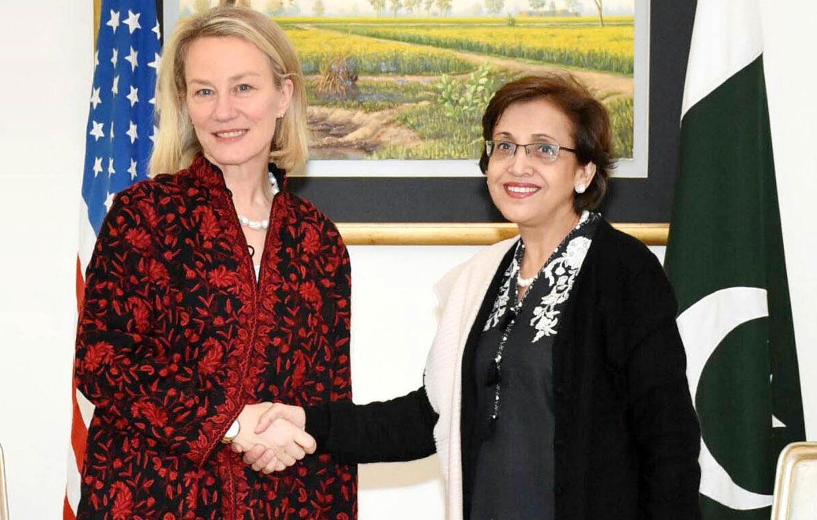 Photo of امریکی نائب سیکرٹری خارجہ ایلس ویلز پاکستان پہنچ گئیں