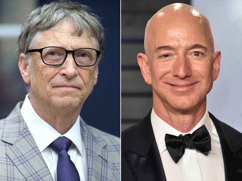 Photo of جیف بیزوس اور بل گیٹس کتنے امیر ہوچکے ہیں