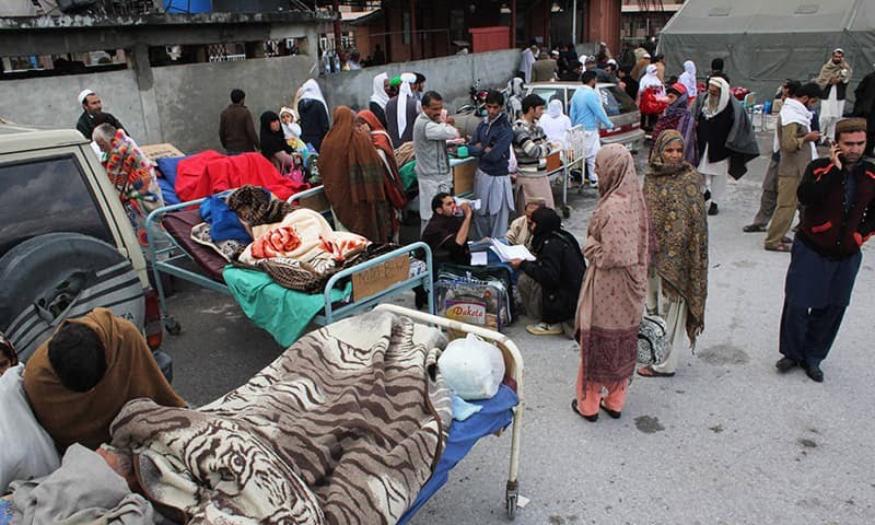 Photo of 1 Dead, 50 Injured In Pakistan Occupied Kashmir After Massive Earthquake