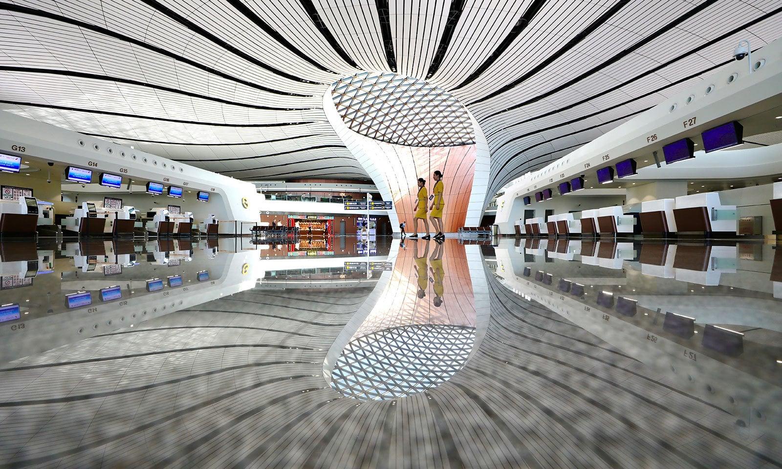 چین کا ایک اور تعمیراتی عجوبہ عوام کے لیے کھول دیا