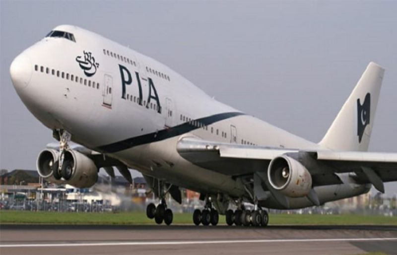 PIA flight over malfunctioning fire alarm