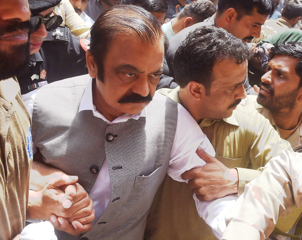 Photo of Court rejects Rana Sanaullah's bail petition