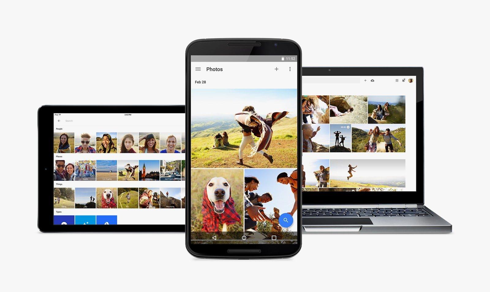 گوگل فوٹوز کو میسجنگ ایپ