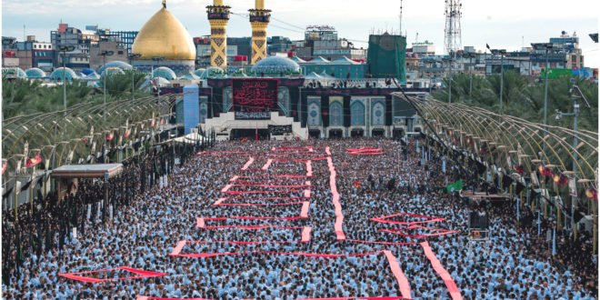 Photo of نواسہ رسول حضرت امام حسین ؓاور شہدائے کربلا کی یاد میں آج یوم عاشور مذہبی عقیدت واحترام سے منایا جارہاہ