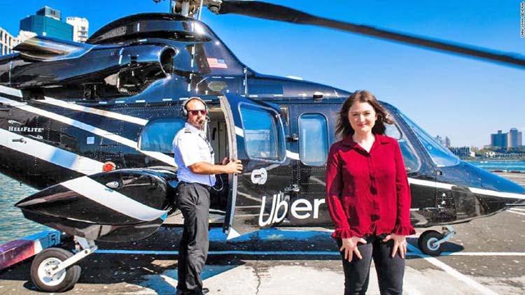 ٹیکسی کے بعد اوبر نے ہیلی کاپٹر سروس بھی شروع