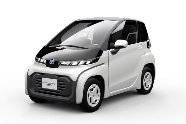 Photo of Toyota Electric Car