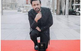 Atif Aslam gets his own Dubai star at the new walk of fame
