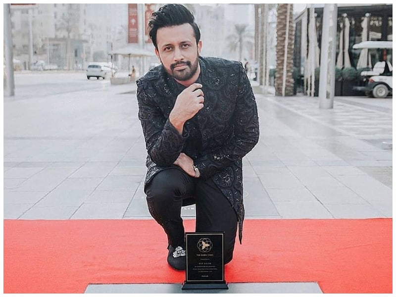 Photo of Atif Aslam gets his own Dubai star at the new walk of fame