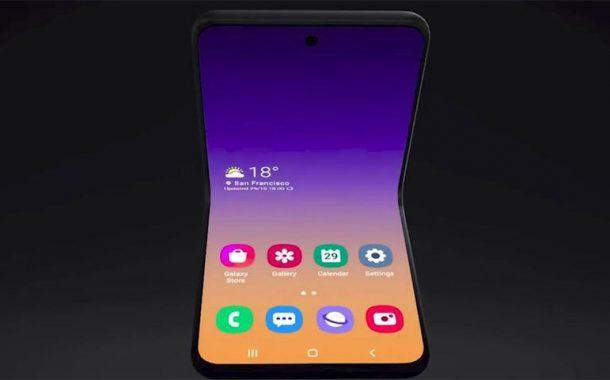 Samsung unveils new foldable flip phone concept