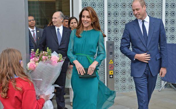 برطانوی شاہی خاندان کے شہزادہ ولیم اور ان کی اہلیہ ڈچز آف کیمبرج کیٹ مڈلٹن آج  پاکستان کے دورے پر آئیں گے