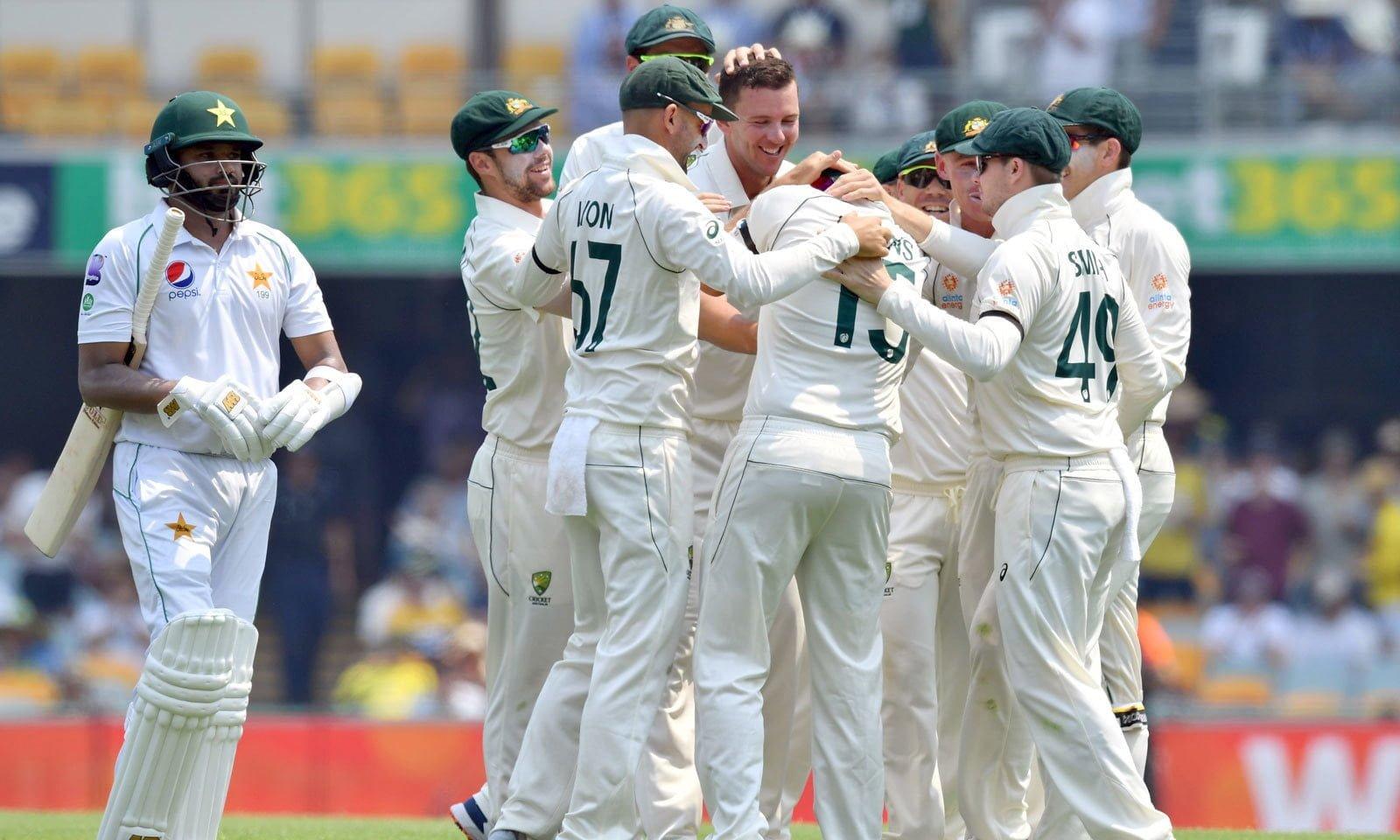 Pictorial view of Australia vs Pakistan Match
