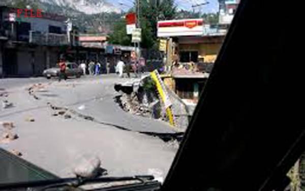 Photo of پاکستان کے کئی شہروں میں زلزلہ