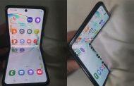سام سنگ کے نئے فولڈ ایبل فون کی تصاویر لیک