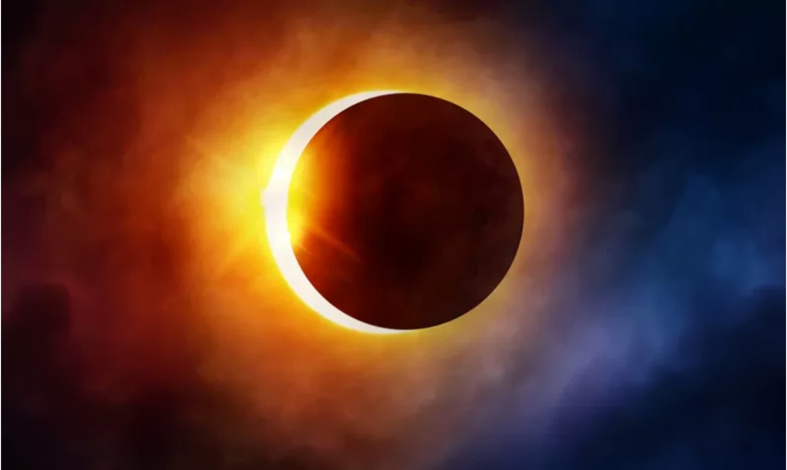 Photo of 'A Ring of Fire' final Solar Eclipse