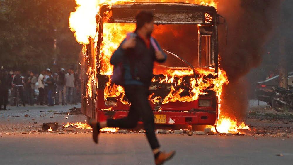 Photo of India police storm Jamia, AMU to break citizenship law protests