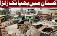 Earthquake in Pakistan, زلزلے کے شدید جھٹکے محسوس کیے گے
